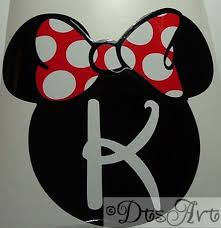 Dtsart Blog Minnie Mouse Vinyl Car Decal