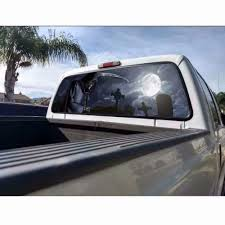 Practlsol Car Decals 1 Pcs Grim Reaper Decal Rear Window Decal Truc Fochutech