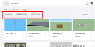 Searching For Models And Materials Sketchup Help