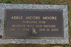 Adele Jacobs Moore (1924-2002) - Find A Grave Memorial