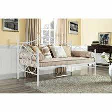 White Finish Metal Daybed Frame Twin Full Bed Kids Bedroom Guest Dorm Couch Sofa For Sale Online