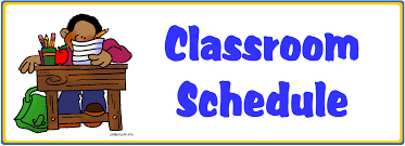 New Daily Schedule Week of 4/20 – 4/24 – Donelson 1st Grade