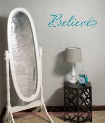 Believe Wall Art Wall Decal Stickers Christian Vinyl Wall Letters