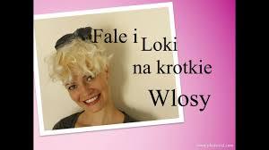 Fale I Loki Na Krotkie Wlosy Youtube