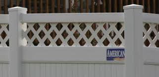 How To How Do I Install Lattice On A Vinyl Fence America S Fence Store