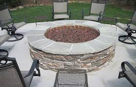 gas furniture patio fireplace target
