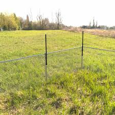 Dog Proofer Standard Straight Fence Extension System With Welded Wire Fence Material Kit Dog Pet Barrier Wayfair