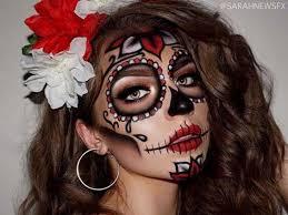 sugar skull makeup cl nerdia cat