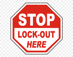 Stop Lock Out Here Label - Lockout Tagout Clipart – Stunning free  transparent png clipart images free download
