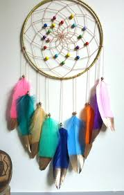 Rainbow Dream Catcher Boho Nursery Dreamcatcher Kids Room Decor Dream Catcher Boho Dream Catcher Nursery Dream Catcher