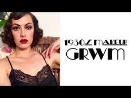 1930s makeup grwm vine tips tricks