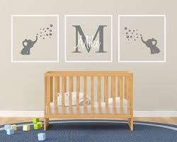 Custom Name Elephant Bubbles Frames Handmade Series Baby Boy Girl Unisex Wall Decal Nursery For Home Bedroom Children Am Handmade Cjp Org In