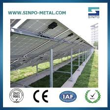 China Black Hot Dip Galvanized Steel Solar Panel Pole Mounting Bracket For Solar Panel System China Solar Energy System Solar Power System