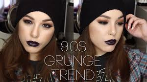 90s grunge makeup tutorial 90s lip