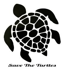Turtle Car Decal Turtle Window Vinyl Save The Turtle Car Vinyl Window Vinyl Black Turtle Permanent Vinyl Turtle Silhouette Turtle Art Turtle Outline