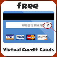 credit card numbers front and back 2019