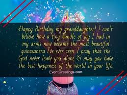 lovely birthday wishes for granddaughter