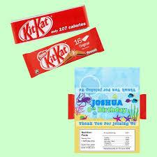 m t o customised kit kat 2 bars