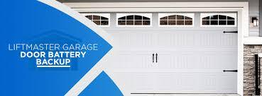 liftmaster garage door battery backups