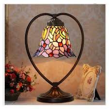 iris flower tiffany style stained glass