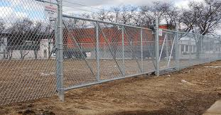 Kalamazoo Commercial Chain Link Fence Gates Railing Sales Service