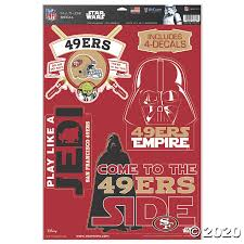 Nfl San Francisco 49ers Star Wars Decals Discontinued