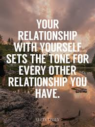quotes about relationship yourself quotes