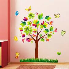 Zoo Animal Panda Tree Birds Kids Room Decor Baby Room Decals Wall Sticker Ijnmg0 For Sale Online Ebay
