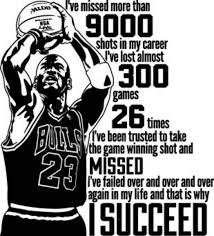 Michael Jordan Quote Wall Decal I Ve Mis Buy Online In Guernsey At Desertcart