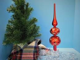 tree topper glass tree topper