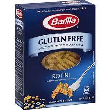 barilla gluten free rotini green way