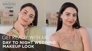 day to night wedding makeup tutorial