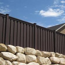 Trex Seclusions 6 Ft X 8 Ft Woodland Brown Wood Plastic Composite Board On Board Privacy Fence Panel Kit Tfbpfk68 The Home Depot