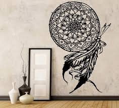 Dream Catcher Vinyl Wall Decal The Personalized Gift Co