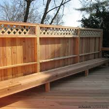 Deck Fence Design S Of Railing Ideas And Designs Pool Home Elements Style Privacy Wood Patterns Trellis Creative Hot Tub Crismatec Com