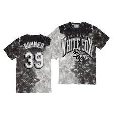 White Sox Aaron Bummer Vintage Tubular Retro Black T-Shirt