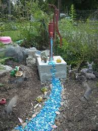 a cool use for recycled glass