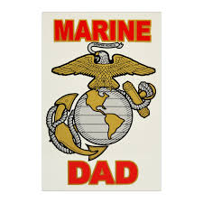 Usmc Marine Dad Car Window Decal The Marine Shop