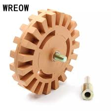Decal Remover Eraser Wheel With 4 Inch Rubber Power Drill Attachment Remove Tool Car For Vinyl Sticker Pinstripes Stickers N2 Tool Parts Aliexpress