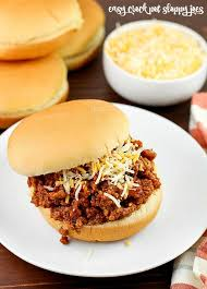 easy crock pot sloppy joes yummy
