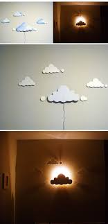 Cloud Night Light Baby Decor Diy Clouds Bedroom Night Light