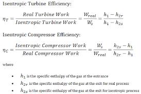 isentropic efficiency turbine