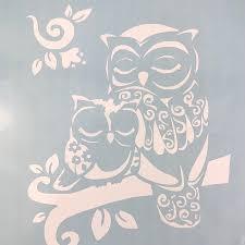 Handmade Other Owl Mom With Child White Vinyl Decal Poshmark