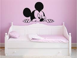 Mickey Mouse Wall Decal For Nursery Boys And Girls Room Mickey 0001 Wall Sticker Usa