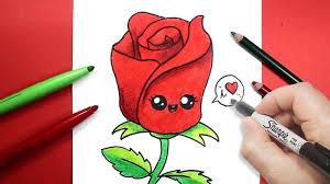 كيف ترسم وردة رسم وردة طريقة رسم وردة للاطفال بسهولة Youtube