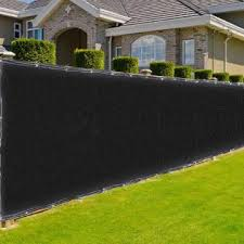 Aplusbuy 37fen00350x4ftff06 50x4 Ft Mesh Privacy Fence Windscreen 180 Gsm Hdpe Fabric Slat Fencing Sunshade Cover