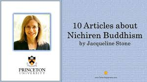 10 Articles about Nichiren Buddhism by Jacqueline Stone - Lotus Happiness
