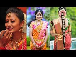 south indian bridal makeup hairstyle