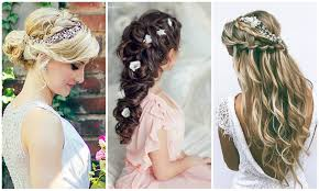 bridal hair looks wedding ideas