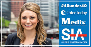SIA Recognizes Jordan McGuire, Managing Director of Talentoday, a Medix  Subsidiary, on 2019 40 Under 40 List - Medix